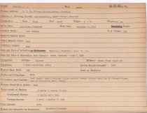Image of Selective Service Record - X1994.63.202