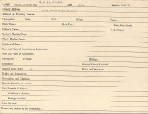 Image of Selective Service Record - X1994.63.203
