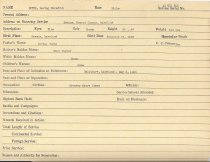 Image of Selective Service Record - X1994.63.207