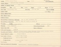 Image of Selective Service Record - X1994.63.62