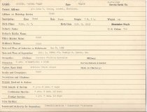 Image of Selective Service Record - X1994.63.68