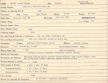 Image of Selective Service Record - X1994.63.71