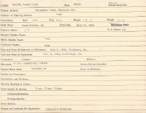 Image of Selective Service Record - X1994.63.76