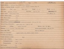 Image of Selective Service Record - X1994.63.88