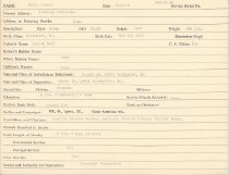 Image of Selective Service Record - X1994.63.91
