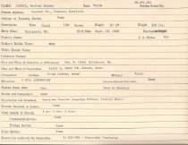 Image of Selective Service Record - X1994.63.409