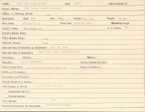 Image of Selective Service Record - X1994.63.423