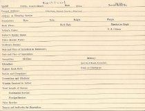 Image of Selective Service Record - X1994.63.426