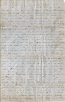 Image of 1862 letter to friend in Baton Rouge a.) Page 4