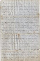 Image of 1862 letter to friend in Baton Rouge a.) Page 3
