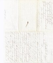 Image of Letter to mother from son at Ellicott Mills x1994.69.100.1 (page 1)