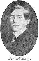 Image of Wm. Henry Forsythe Jr.