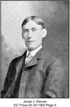 Image of Jacob J. Warner