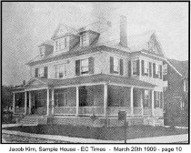 Image of Jacob Kirn, Sample House