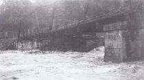 Image of Flood, Mid 20th Century, Baltimore County (Bridge)