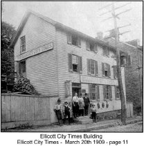 Image of Ellicott City Times Building