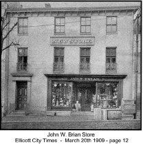 Image of John W. Brian Store