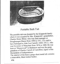 Image of Portable Bathtub