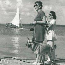 Image of Carol Fredriksen, Olga Verduzco, unknown dog