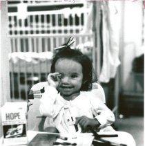 Image of Little patient Roberta Ferreira.