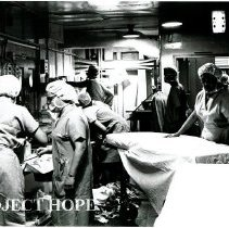Image of Scene of the busy operating room.