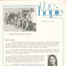 Image of the hopie ship to shore Vol. 2, No. 2/1968, page 1