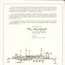"Image of ""the hopie""  Ship to Shore  Vol. 4 No.1/1970, Page 4"