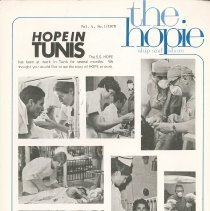 "Image of ""the hopie""  Ship to Shore  Vol. 4 No.1/1970, Page 1"
