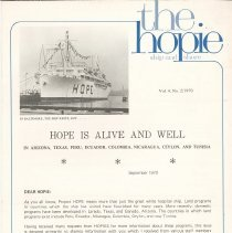 "Image of Newsletters - ""the hopie""  ship and shore"