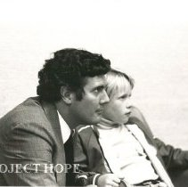 Image of Bill Walsh and son Willy Walsh