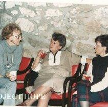 Image of 1986  Alice Mild, Ann Ledford, Judy Berner at HOPE Center