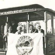 Image of 1980 Harold Royaltey, Alice Royaltey, W.B. Waslh, Helen Walsh San Francisco