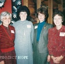 Image of Esther Kooiman, Mary Anne Small, Kathryn Scilichtruann, Roberta O'Grady