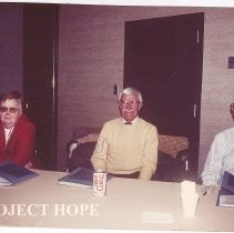 Image of November 1987 Lee Harrison, Paul Cherney, Sam Kron
