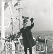 Image of Dr. William B. Walsh onboard the SS HOPE