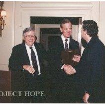 Image of Dr. Walsh, ?, Bill Walsh