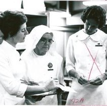 Image of Nancy Randall, Sr. Elisa - counterpart in diet kitchen