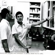 Image of Pharmacy - Diane Benjamin and counterpart