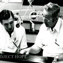 Image of Dr. Osmar Alves and Dr. Cartwright