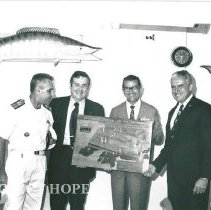 Image of Admiral of Navy, Dr. Walsh, Minister and Rector.
