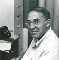 Image of Dr. Thomas Hayes, Deputy Chief of Staff, in his office.