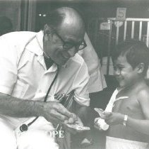 Image of Dr. Maxwell Ibsen, pediatrician, rotation #4 in Natal.