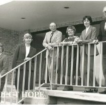 Image of Alice Mild, C Fredriksen, Dr. Al Long, Ann Ledford, Mary Dreelin, Sam Kron