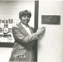 Image of Carol Fredriksen at HOPE Center Library