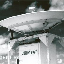 Image of COMSAT Equipment on the SS HOPE.