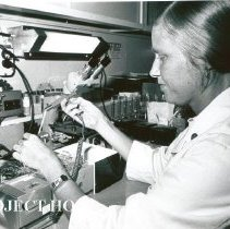 Image of Marie Storaasli, Medical Technologist, working in Hematology