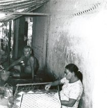 Image of Making Filet Lace in Maceio, Brazil.