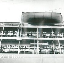 Image of SS HOPE arrival in Maceio.