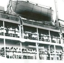 Image of SS HOPE arriving in Maceio,