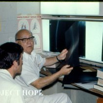 Image of Harold Tompkins, Radiologist and David McNutt, Internal Medicine